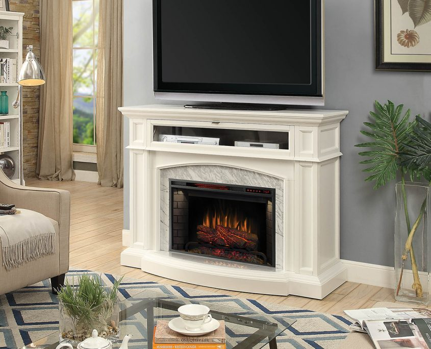 Scott-Living-52-IN-Electric-Mantel-White